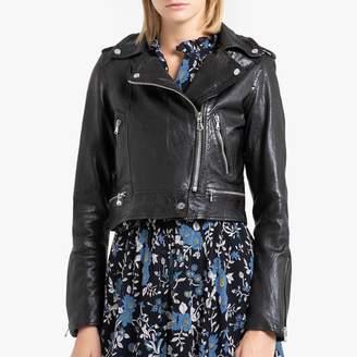 Oakwood KYOTO Sheep Leather Zip Jacket