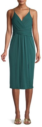 BCBGeneration Draped Matte Jersey Dress