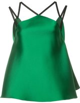 Maison Rabih Kayrouz colour block tank top - women - Silk/Polyester - 40