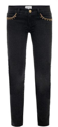 Current/Elliott Stiletto low-rise skinny jeans