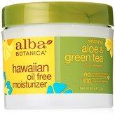 Alba Hawaiian, Aloe & Green Tea Oil-Free Moisturizer, 3 Ounce