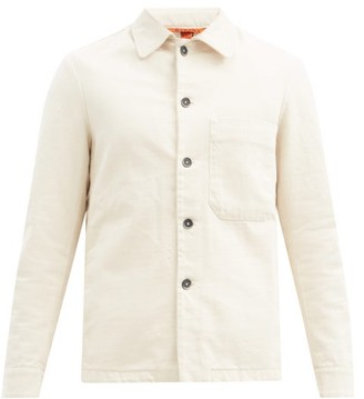 Barena Rocheo Cotton-twill Overshirt - Cream