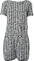 Stella McCartney printed playsuit - women - Silk/Spandex/Elastane/Acetate/Viscose - 42