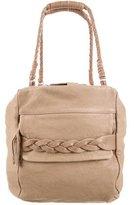 Isabel Marant Leather Double-Zip Bag