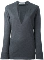 08sircus deep V-neck pullover