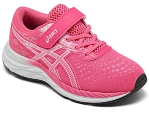 Asics Little Girls Pre Excite 7 Running Sneakers from Finish Line