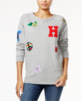 Tommy Hilfiger Patch Sweatshirt, Only at Macy's