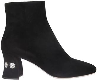 Miu Miu Side Zip Ankle Boots