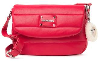Love Moschino Borsa Rosso Quilted Crossbody
