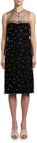 No.21 No. 21 Embellished Sleeveless Ruched Cocktail Dress