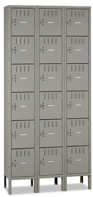 Tennsco Corp. Box Compartments Storage Cabinet Tennsco Corp. Finish: Medium Gray