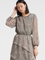 DKNY Dress With Tiered Skirt