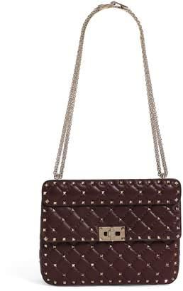 Valentino Garavani Medium Leather Rockstud Spike Shoulder Bag