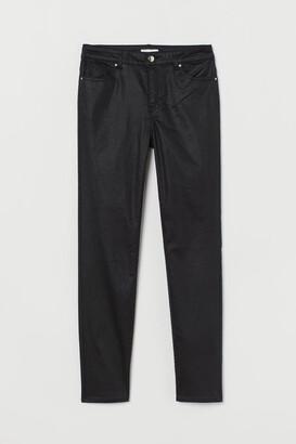 H&M Super Slim-fit Pants - Black