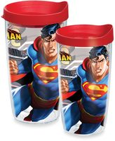 Tervis 16-Ounce Superman Wrap Design Tumbler with Lid