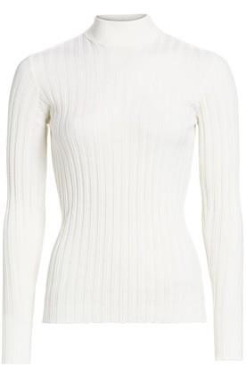 Bottega Veneta Ribbed Wool-Blend Turtleneck Sweater