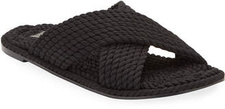 Salt+Umber Footwear Saraya Woven Rope Sandals