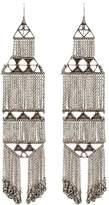 Saint Laurent marrakech chain earrings