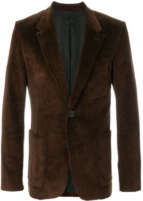 Ami Half-Lined Two Buttons Jacket