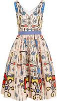 Peter Pilotto Circle printed cloqué dress