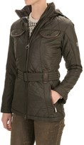 Barbour Land Rover Clovencrag Quilted Coat - Insulated (For Women)