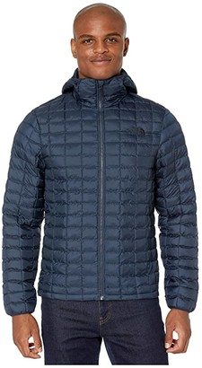 The North Face Thermoball Eco Hoodie (Bomber Blue/TNF Black) Men's Clothing