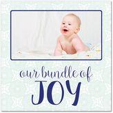 Our Little Bundle of Joy Canvas Wall Art