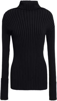 Valentino Ribbed-knit Turtleneck Top