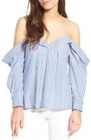 Bardot Women's Paloma Cotton Off The Shoulder Top