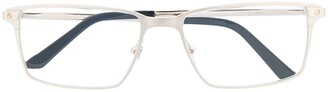 Cartier Eyewear Santos square frame optical glasses