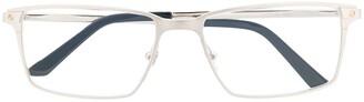 Cartier Santos square frame optical glasses