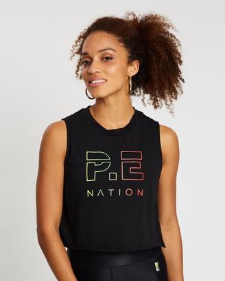 P.E Nation Shuffle Cropped Tank