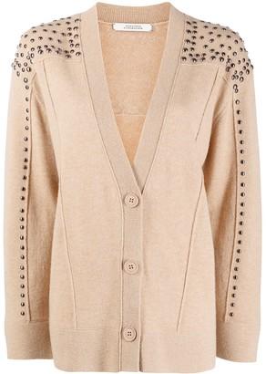 Dorothee Schumacher Studded Button-Up Cardigan