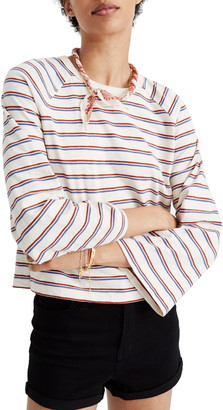 Madewell Stripe Wide Sleeve Tee