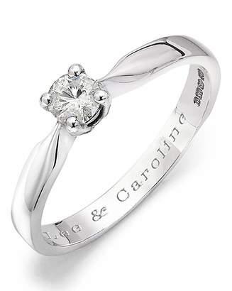 Marisota Moissanite Personalised 1/4 Carat Ring