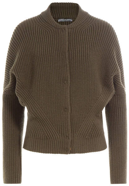 Alexander McQueen Ribbed Wool Jacket