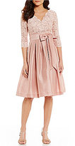 Jessica Howard Lace Taffeta Party Dress