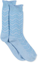 Charter Club Chevron Striped Cashmere-Blend Socks, Only at Macy's