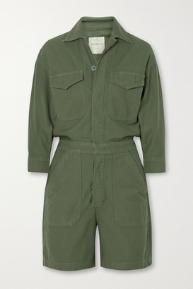 Citizens of Humanity Marta Organic Cotton Playsuit - Army green