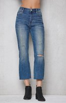 PacSun Amor Blue Crop Kick Flare Jeans
