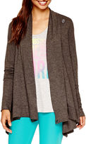 JCPenney Xersion Long-Sleeve Wrap Cardigan