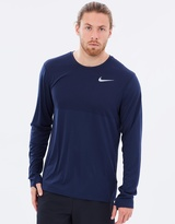 Nike Men's Zonal Cooling Relay LS Top