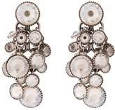 Konplott DANGLING WATERFALLS Earrings white antique