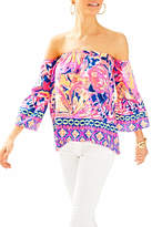 Lilly Pulitzer Sanilla Off Shouler Top