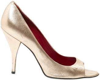 Pierre Hardy Pink Leather Heels