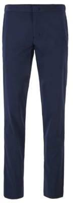 BOSS Slim-fit trousers in anti-wrinkle fabric