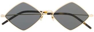 Saint Laurent Eyewear Diamond-Shape Frame Sunglasses