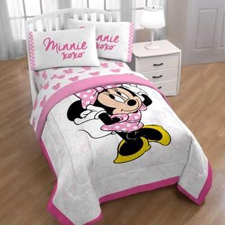 Minnie Mouse XOXO Twin Sheet Set