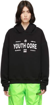 Misbhv Black Youth Core Hoodie