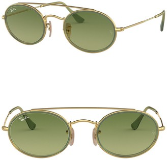 Ray-Ban Elite 52mm Gradient Oval Sunglasses